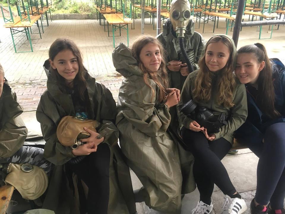 Klasy siódme i szóste na wymagającym wyjeździe integracyjnym w Toruniu